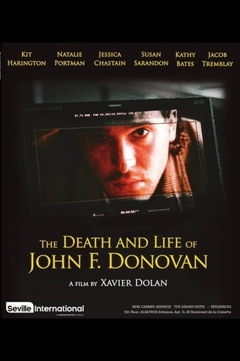 Poster of The Death and Life of John F. Donovan