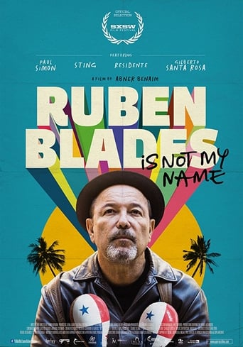Poster of Ruben Blades Is Not My Name
