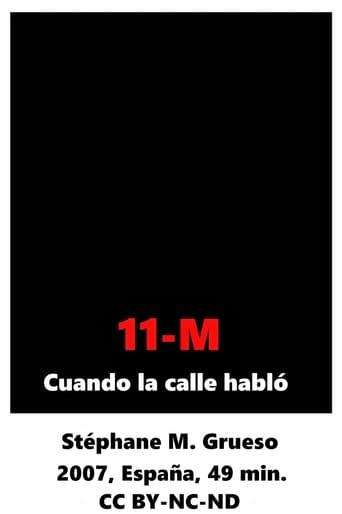 11-M Cuando la calle habló