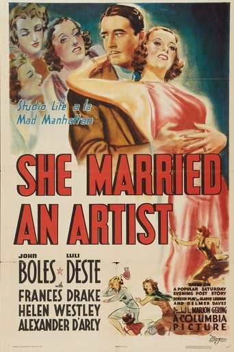 Poster of She Married an Artist