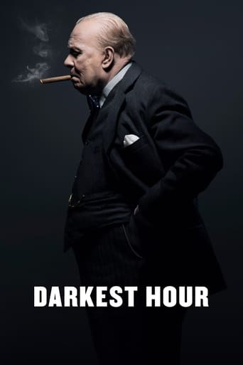 Official movie poster for Darkest Hour (2017)