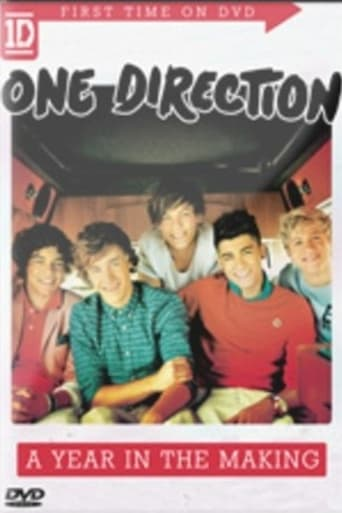 Poster of One Direction: A Year in the Making