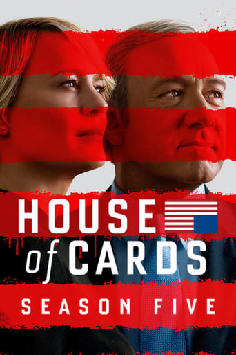 Kortų namelis / House of Cards (2017) 5 Sezonas LT SUB