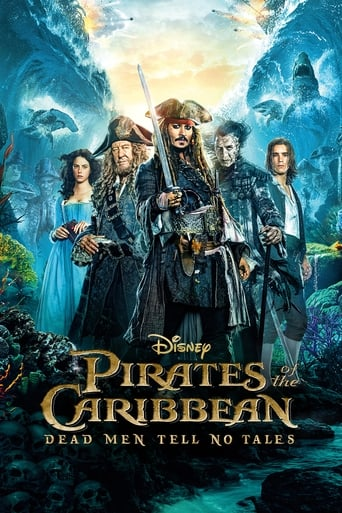 Official movie poster for Pirates of the Caribbean: Dead Men Tell No Tales (2017)