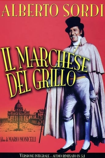 The Marquis of Grillo Movie Poster