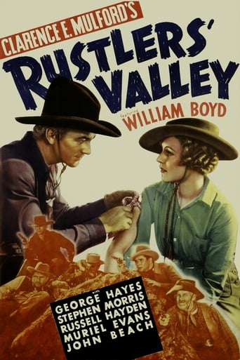 Poster of Rustlers' Valley