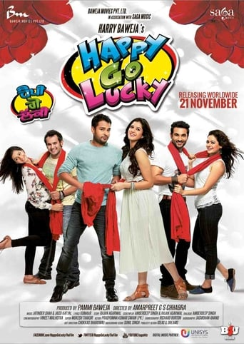 Poster of Happy Go Lucky