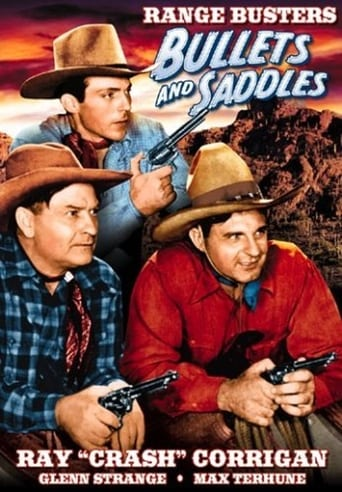 Poster of Bullets and Saddles