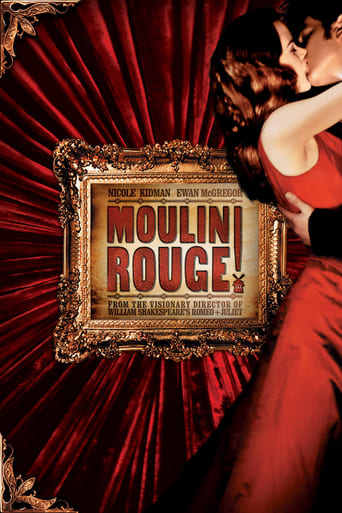 Official movie poster for Moulin Rouge! (2001)