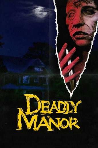 Deadly Manor - Poster