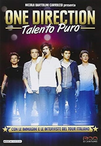 Poster of One Direction - Talento Puro