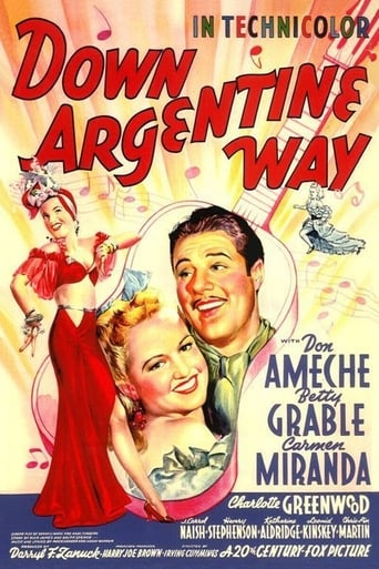 Poster of Down Argentine Way