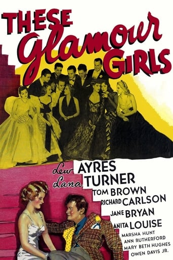 Poster of These Glamour Girls