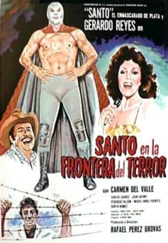 Poster of Santo and the Border of Terror