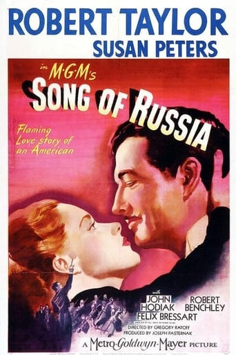 Poster of Song of Russia