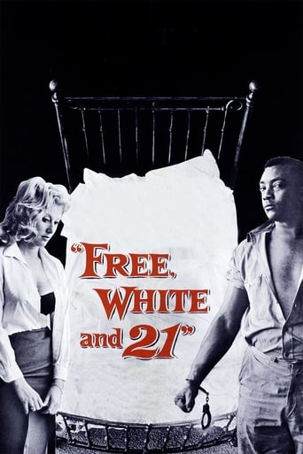 Poster of Free, White and 21