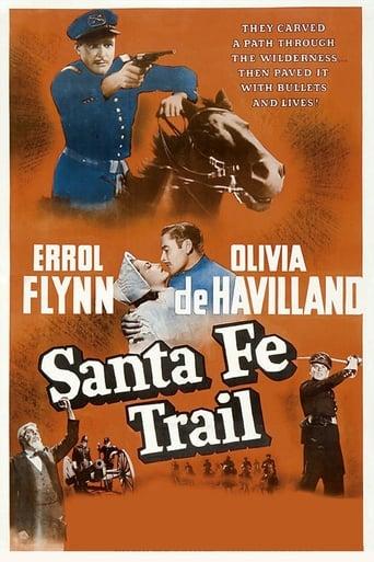 Poster of Santa Fe Trail