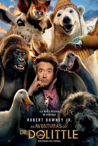 Dolittle Torrent (2020) Dublado HDCAM 720p Legendado Download