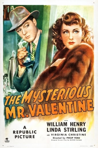 Poster of The Mysterious Mr. Valentine