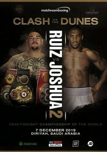 Poster of Andy Ruiz Jr. vs Anthony Joshua II