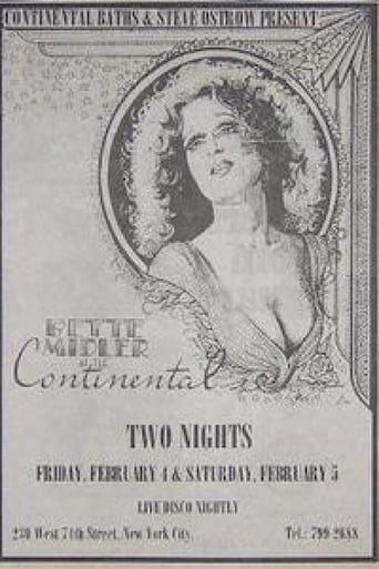 Poster of Bette Midler at the Continental Baths