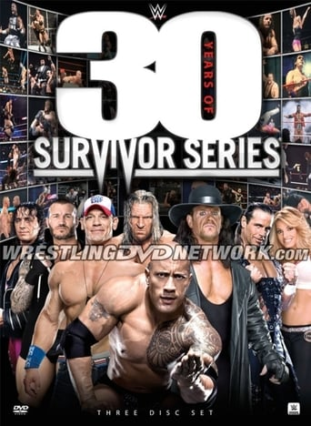 Poster of WWE: 30 Years of Survivor Series