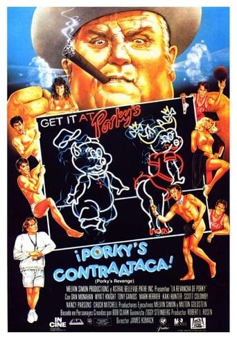 Poster of Porky's contraataca