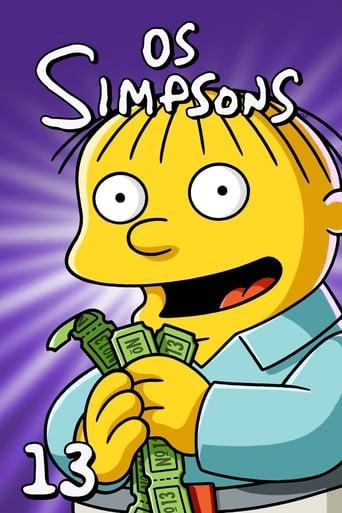 Os Simpsons 13ª Temporada - Poster