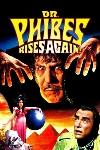 Dr. Phibes Rises Again (1972) - poster