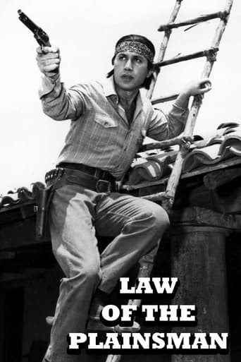 poster of Law of the Plainsman