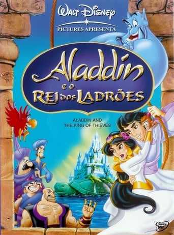 Aladdin e os 40 Ladrões - Poster