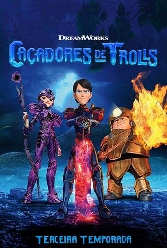 Caçadores de Trolls Contos de Arcadia 3ª Temporada - Poster