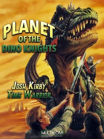 Poster of Josh Kirby... Time Warrior: Planet of the Dino-Knights