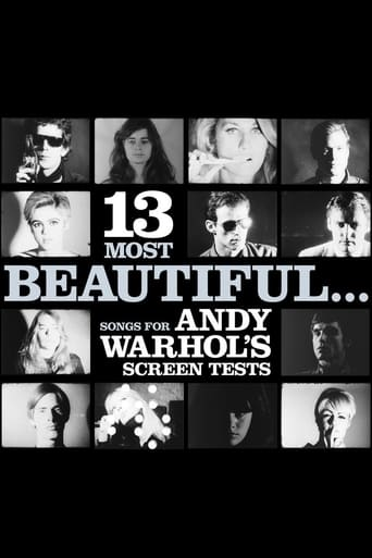 Poster of 13 Most Beautiful… Songs for Andy Warhol's Screen Tests