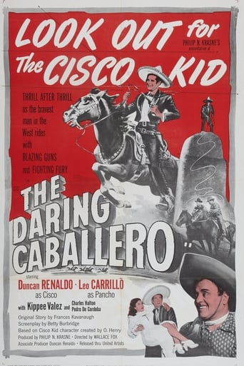 Poster of The Daring Caballero