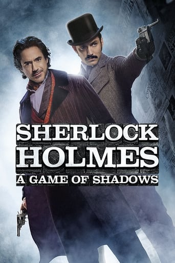 Poster of Sherlock Holmes: A Game of Shadows