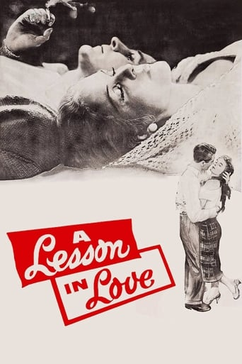 Poster of A Lesson in Love