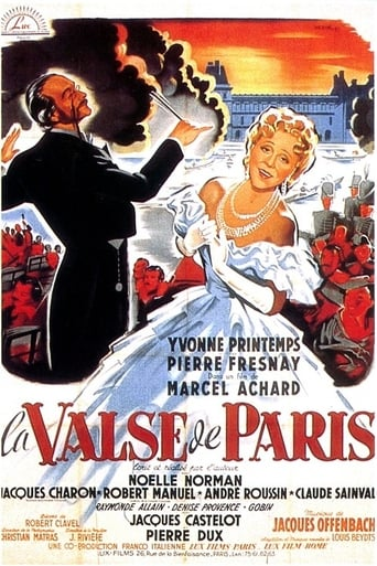 Poster of La valse de Paris