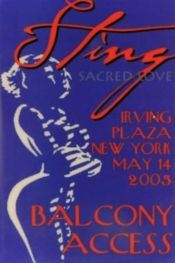 Sting Live At Irving Plaza