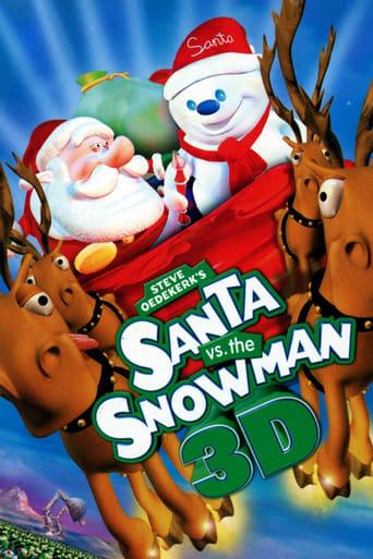 Poster of Santa vs. the Snowman