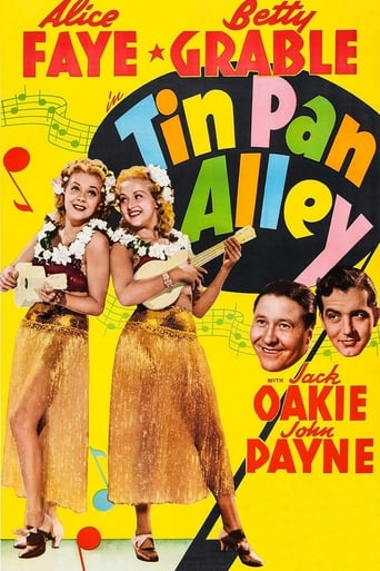 Poster of Tin Pan Alley