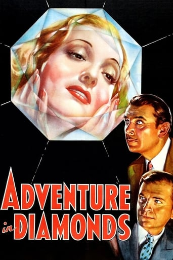 Poster of Adventure in Diamonds