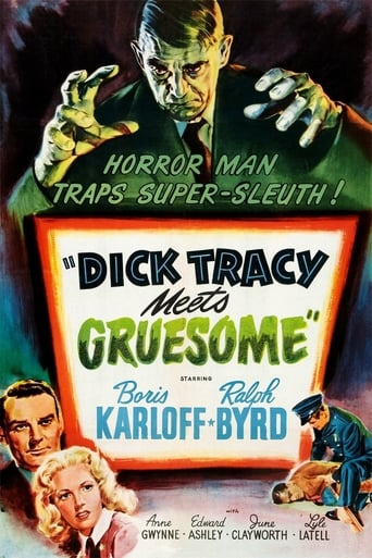 Poster of Dick Tracy Meets Gruesome