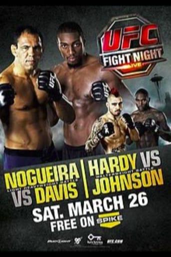 Poster of UFC Fight Night 24: Nogueira vs. Davis