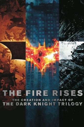 Poster of The Fire Rises: The Creation and Impact of The Dark Knight Trilogy