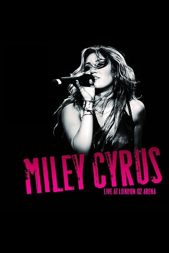 Poster of Miley Cyrus - Live at the O2