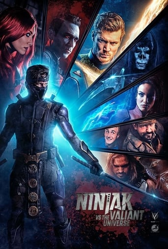 Ninjak vs the Valiant Universe Poster