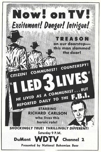 Poster of I Led Three Lives