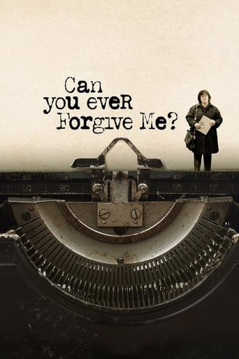 Poster of Can You Ever Forgive Me?