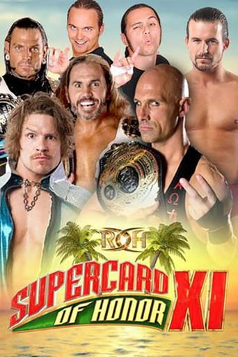 Poster of ROH: Supercard of Honor XI